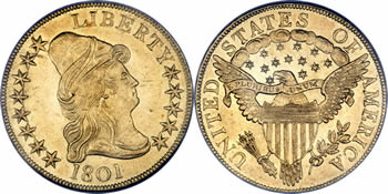 1795-1804 Capped Bust Right Eagle