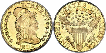 1795-1807 Capped Bust Right Half Eagle