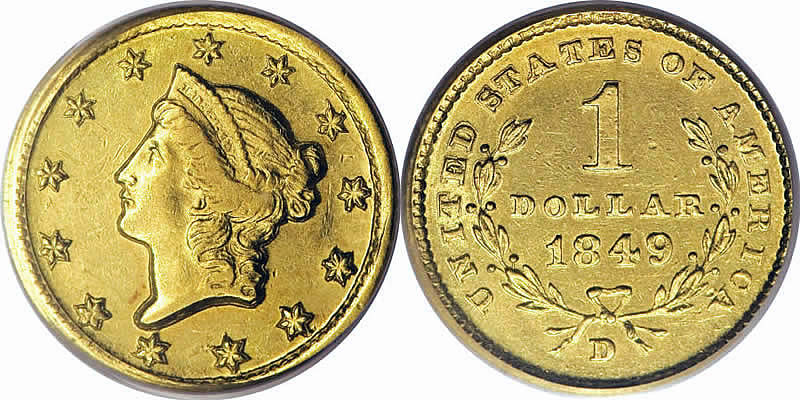 Liberty Head Gold Dollar
