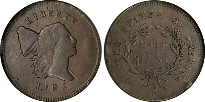 Liberty Cap Bust Right Half Cent