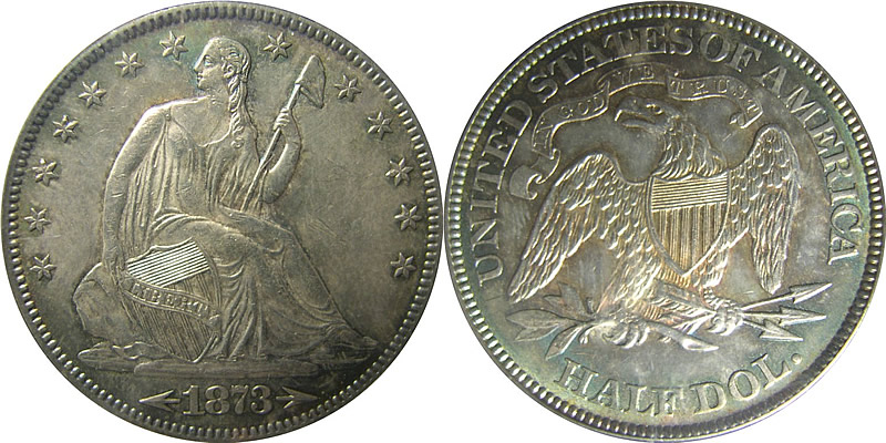 Seated Liberty Half Dollar PCGS MS63