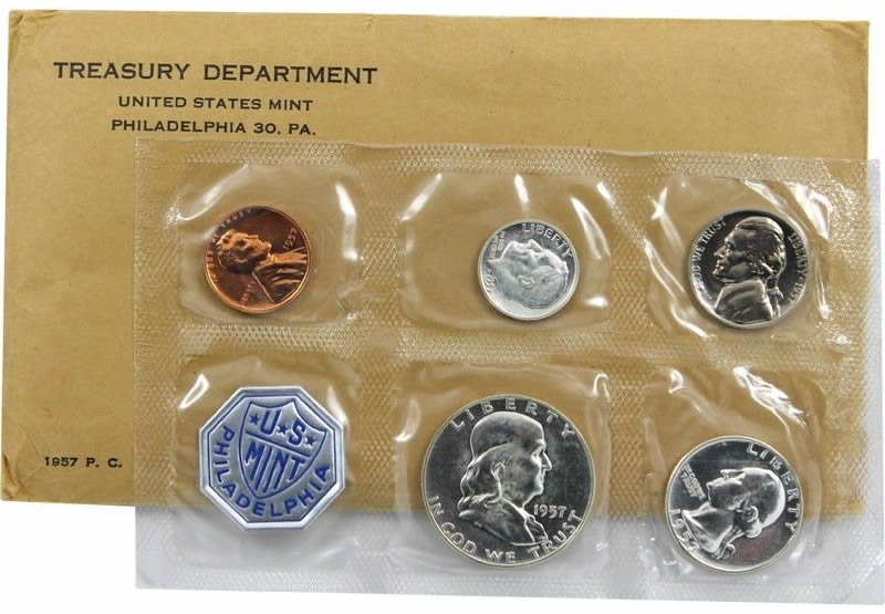 1956 P Silver US Proof set In Original packaging from US mint Proof