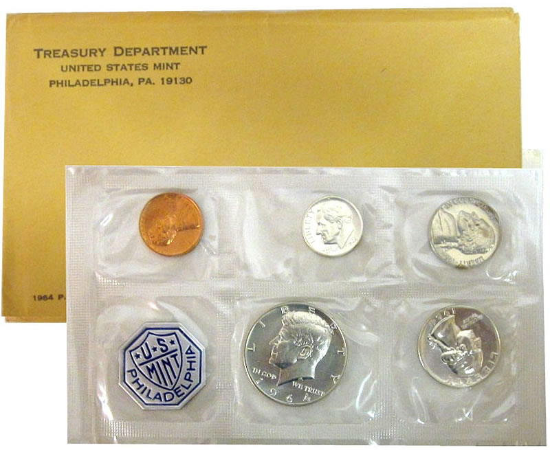 1964 us coin proof set