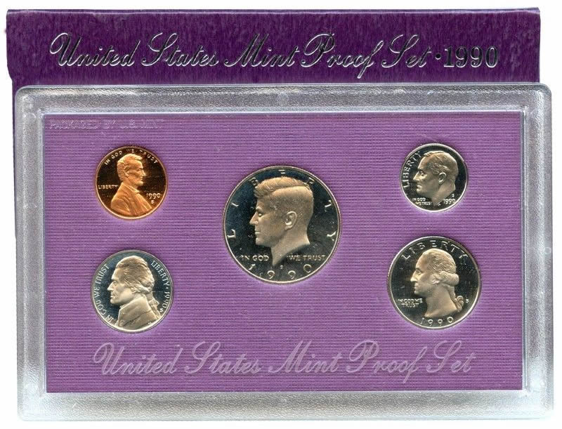 Proof Set 1990 U.S