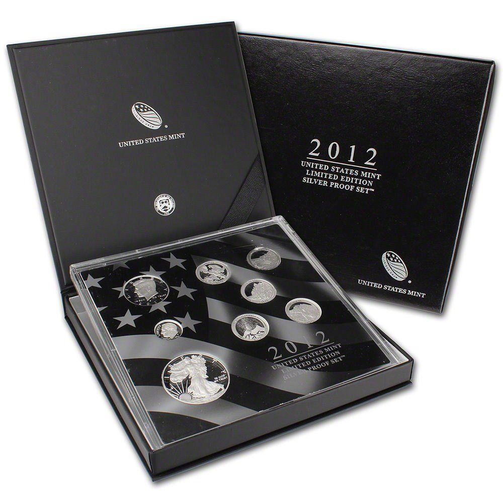 2012 us coin proof set