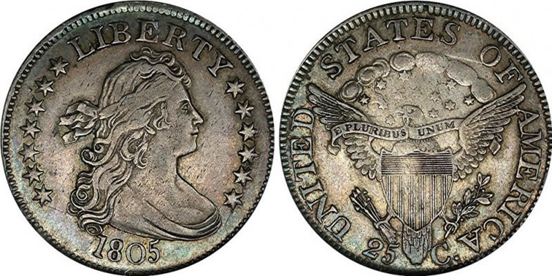 Draped Bust Quarter